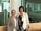 Workshop Facilitator Aisling McMahon and Rosaleen McElvaney